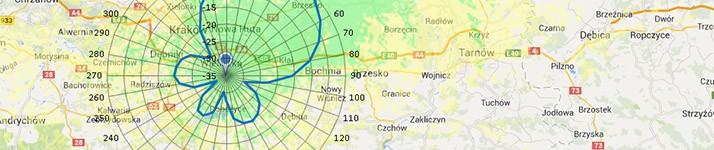 Montaż anten w Krakowie: Mapa Nadajników DVB-T w Polsce