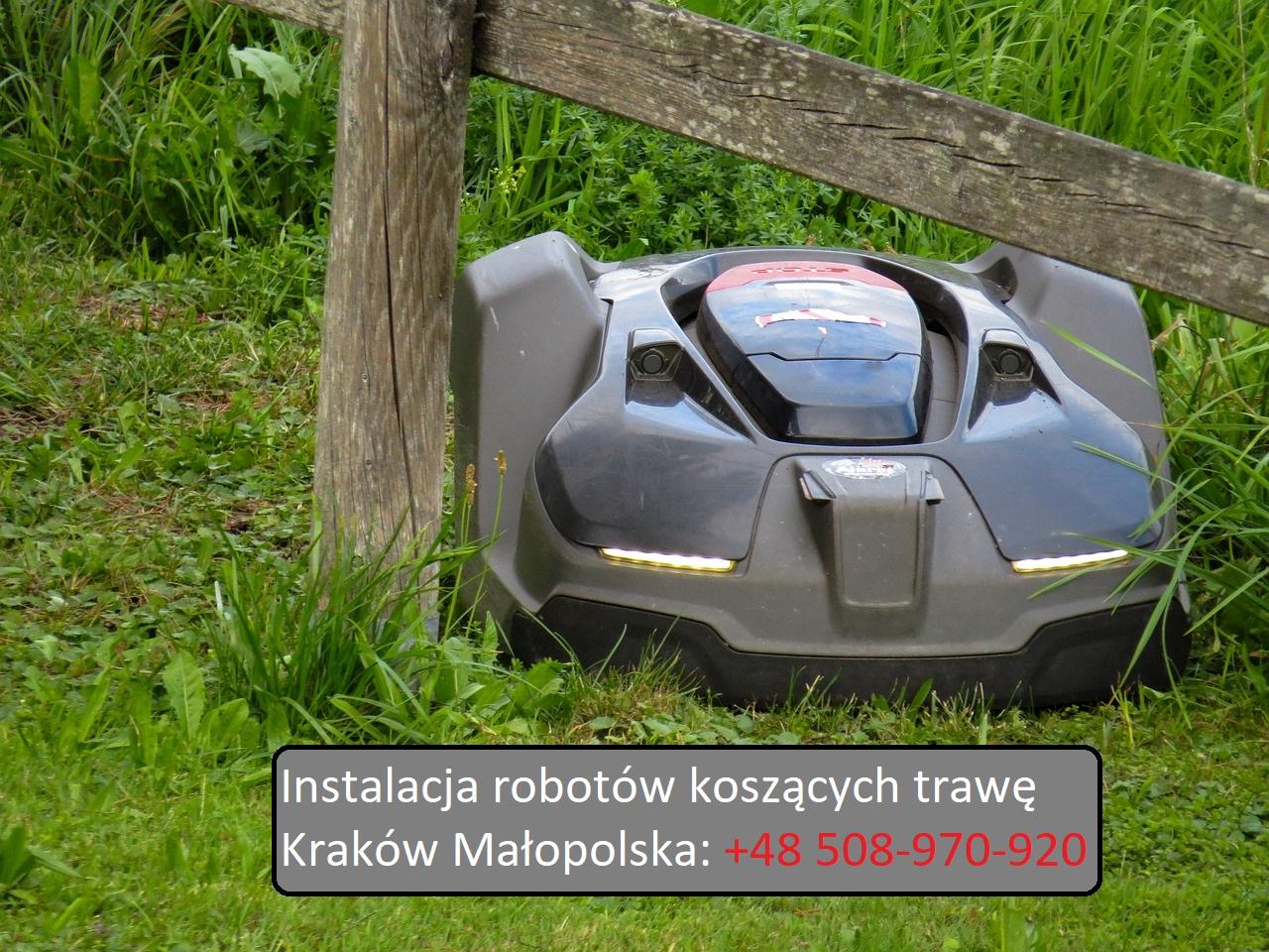 Montaz-serwis-automatycznych-kosiarek-do-trawy-krakow-malopolska